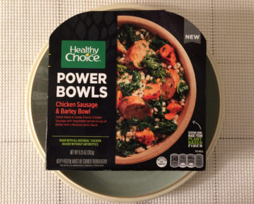 Healthy Choice Chicken Sausage & Barley Bowl Review