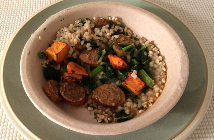 Healthy Choice Chicken Sausage & Barley Bowl