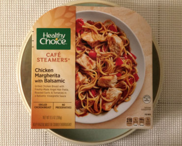Healthy Choice Chicken Margherita with Balsamic Review
