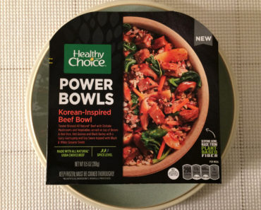 Healthy Choice Korean-Inspired Beef Bowl Review