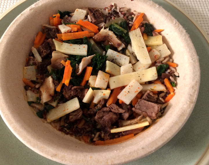 Healthy Choice Korean-Inspired Beef Bowl