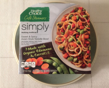Healthy Choice Sweet & Spicy Asian-Style Noodle Bowl
