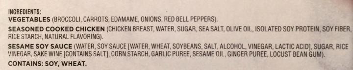 Healthy Choice Chicken & Vegetable Stir Fry
