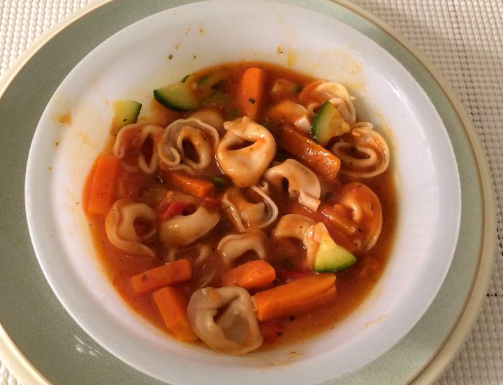 Healthy Choice Tortellini Primavera Parmesan