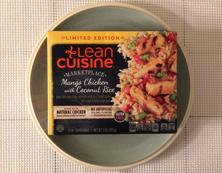 Lean Cuisine Mango Chicken with Coconut Rice