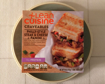 Lean Cuisine Philly-Style Steak & Cheese Panini