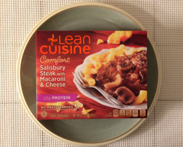Lean Cuisine Salisbury Steak with Macaroni & Cheese