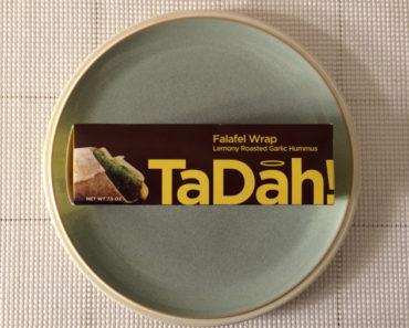 TaDah! Lemony Roasted Garlic Hummus Falafel Wrap