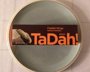 TaDah! Harissa Hummus Falafel Wrap