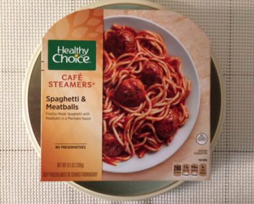 Healthy Choice Spaghetti & Meatballs