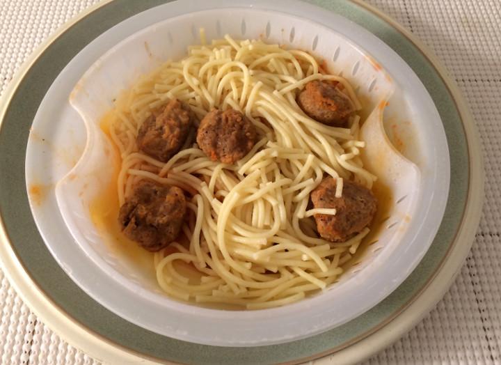 Healthy Choice Spaghetti & Meatballs