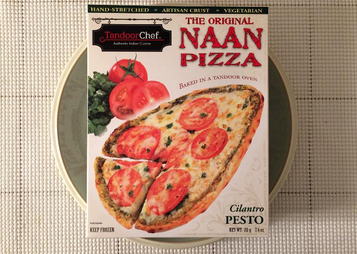 Tandoor Chef Cilantro Pesto Naan Pizza