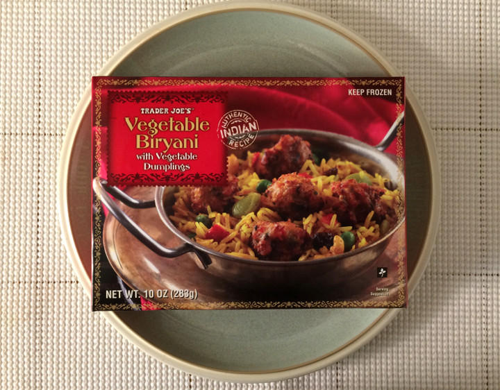 Trader Joe's Vegetable Biryani with Vegetable Dumplings