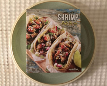 Trader Joe's Shrimp Soft Tacos with Tomatillo Sauce & Cotija Cheese Review