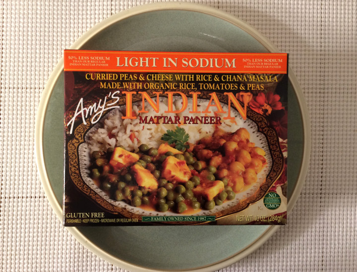 Amy's Light in Sodium Indian Mattar Paneer
