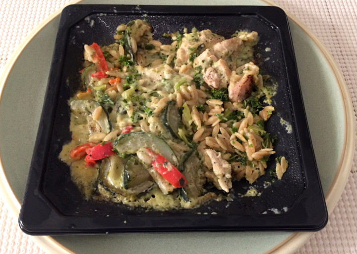 Eating Well Creamy Pesto Chicken
