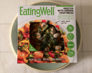 Eating Well Gnocchi with Garden Vegetables Review