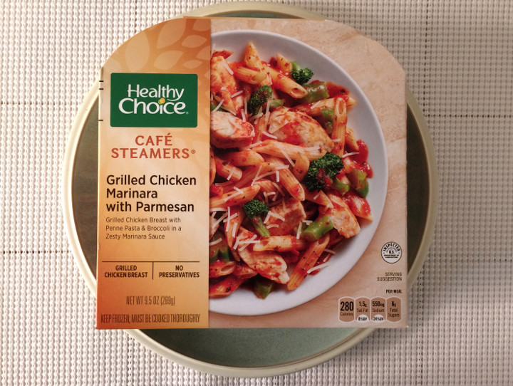 Healthy Choice Grilled Chicken Marinara with Parmesan