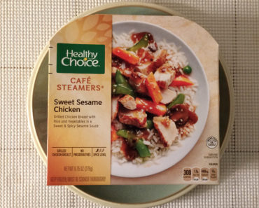 Healthy Choice Sweet Sesame Chicken