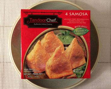 Tandoor Chef Samosa with Mint Chutney
