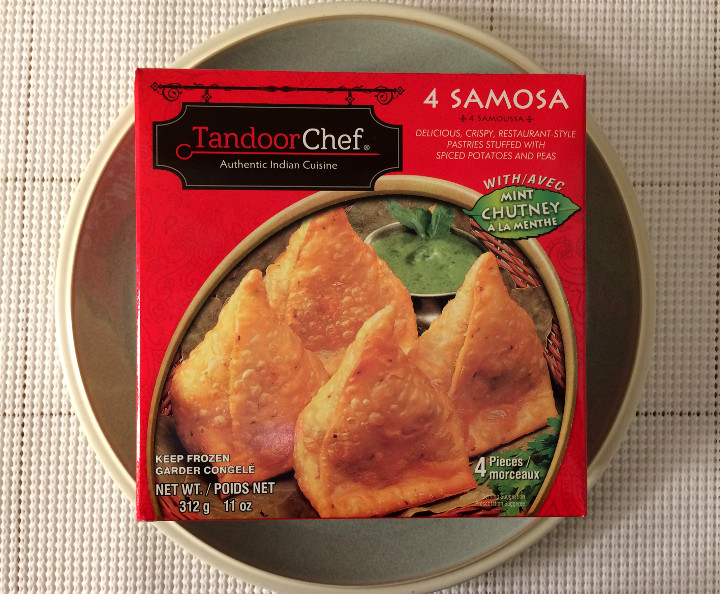 Tandoor Chef Samosa with Mint Chutney