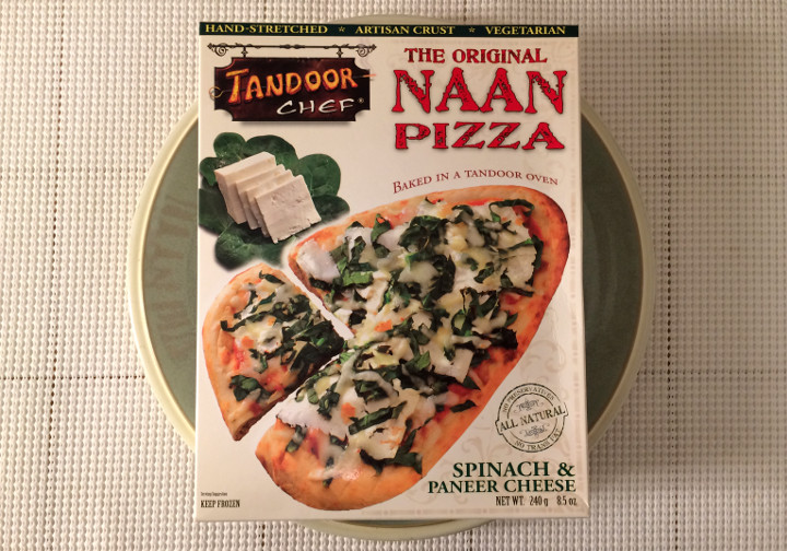 Tandoor Chef Spinach & Paneer Cheese Pizza