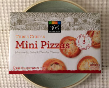 365 Everyday Value Three Cheese Mini Pizzas