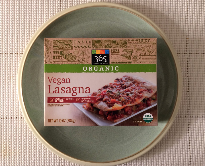 365 Everyday Value Vegan Lasagna