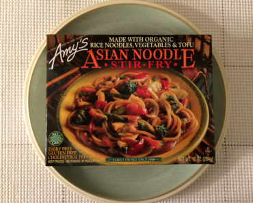 Amy's Asian Noodle Stir-Fry