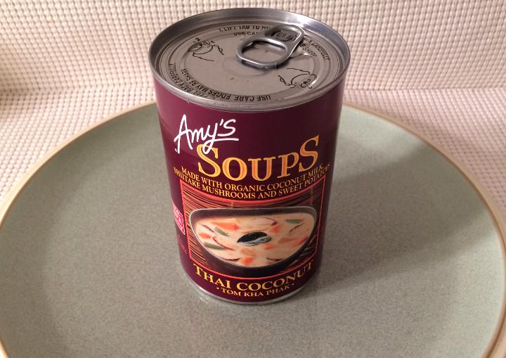 Amy's Tom Kha Phak Thai Coconut Soup