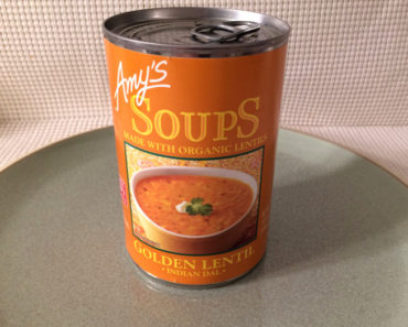 Amy's Indian Dal Golden Lentil Soup