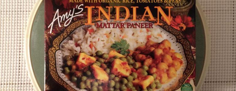 Amy's Indian Mattar Paneer