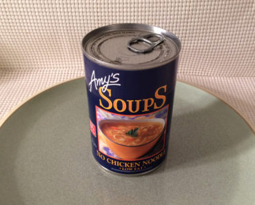Amy's Low Fat No Chicken Noodle Soup