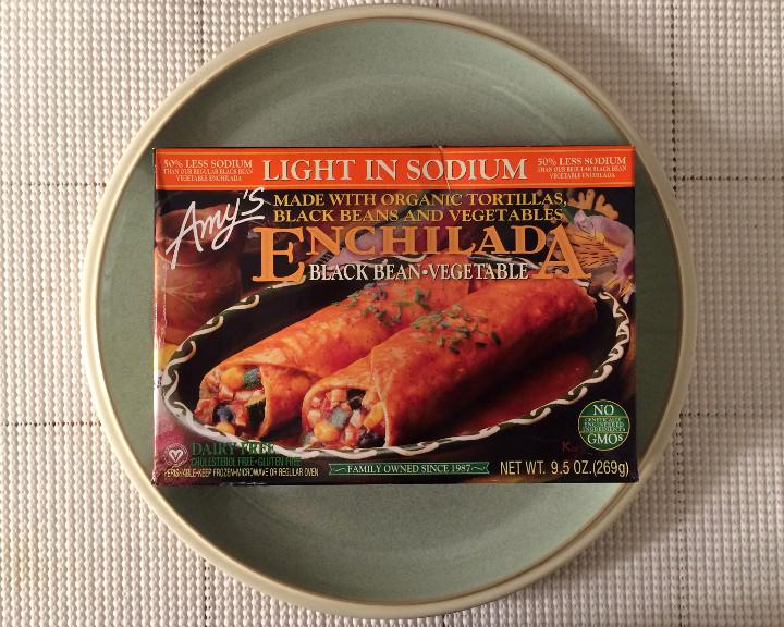 Amy's Light in Sodium Black Bean & Vegetable Enchilada