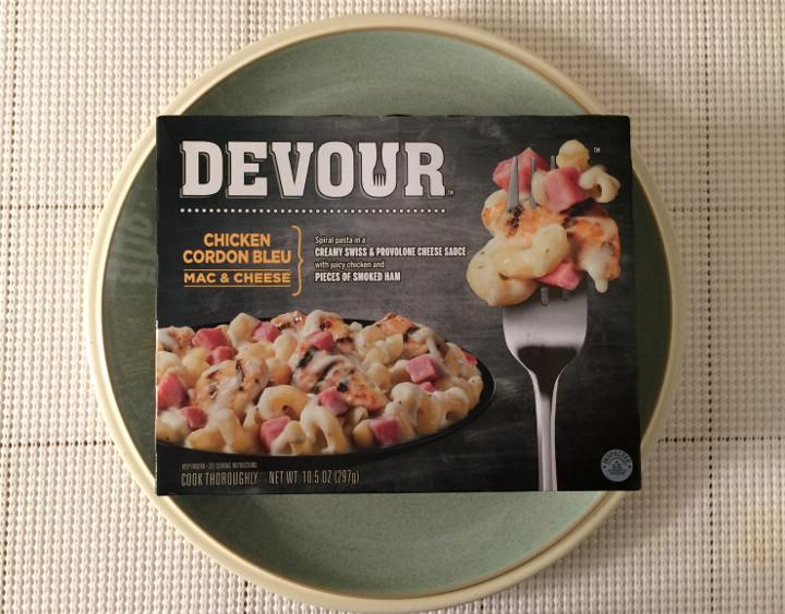 Devour Chicken Cordon Bleu Mac Amp Cheese Review Freezer Meal Frenzy