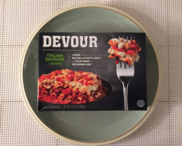 Devour Italian Sausage Lasagna