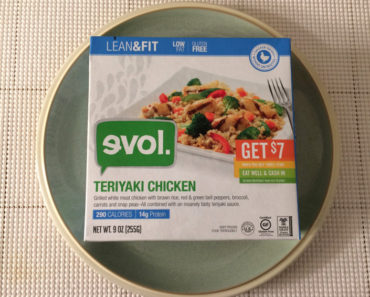 Evol Lean & Fit Teriyaki Chicken