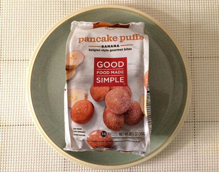 Good Food Made Simple Banana Pancake Puffs