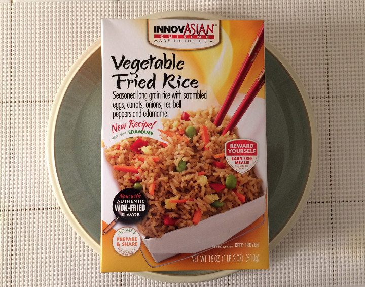 InnovAsian Cuisine Vegetable Fried Rice