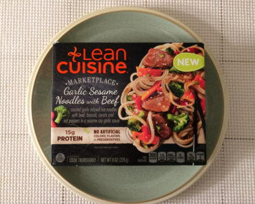 Lean Cuisine Garlic Sesame Noodles with Beef