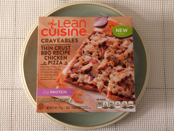 Lean cuisine thin crust bbq recipe chicken pizza review for Are lean cuisine pizzas healthy