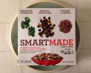 Smart Made Roasted Vegetables & Garlic-Herb Quinoa Bowl Review