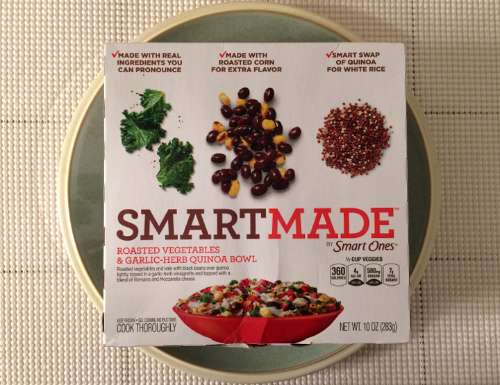 Smart Made Roasted Vegetables & Garlic-Herb Quinoa Bowl