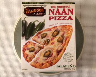 Tandoor Chef Jalapeño Naan Pizza
