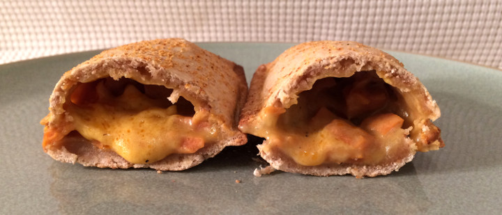 Tofurky Ham and Cheese Pocket