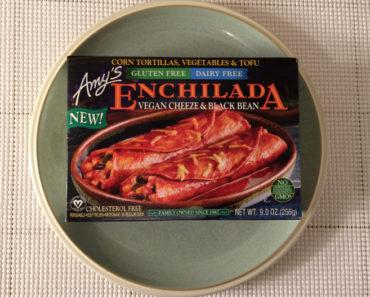 Amy's Gluten Free, Dairy Free Vegan Cheeze & Black Bean Enchilada