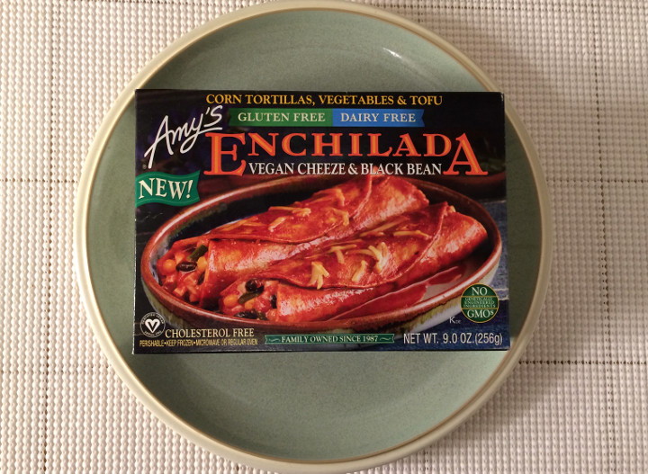 Amy's Gluten Free, Dairy Free Vegan Cheeze & Black Bean Enchilada