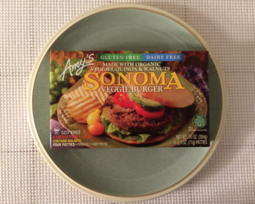 Amy's Sonoma Veggie Burger