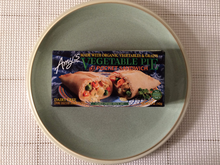 Amy's Vegetable Pie in a Pocket Sandwich
