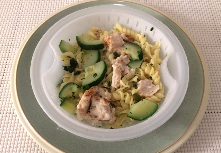 Healthy Choice Grilled Chicken Pesto with Vegetables